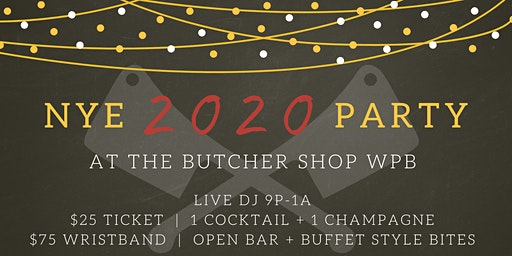 Celebrate New Year's Eve at The Butcher Shop WPB