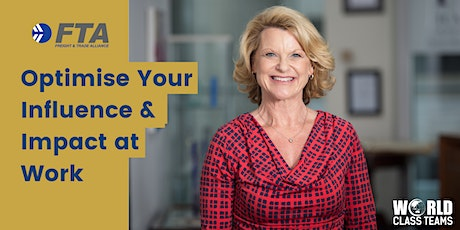 Optimise Your Influence & Impact at Work: Dynamic Workshop SYDNEY tickets