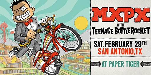MxPx w/ Teenage Bottlerocket