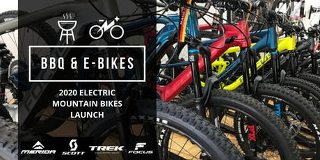 BBQ and E-Bikes - 2020 Electric Mountain Bikes Launch tickets