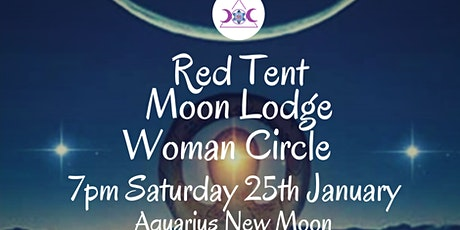 January Red Tent Moon Lodge Woman Circle tickets