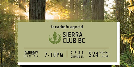 An Evening in support of Sierra Club BC tickets