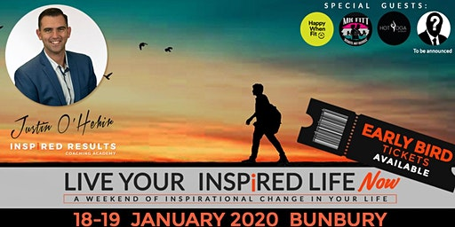 Live Your Inspired Life NOW!