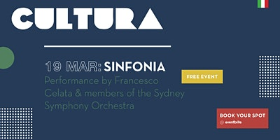 CULTURA - Francesco Celata and members of the Sydney Symphony Orchestra