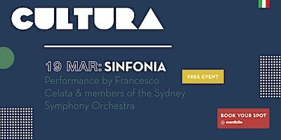 CULTURA - Francesco Celata and members of the Sydney Symphony Orchestra