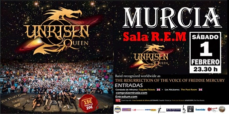 UNRISEN QUEEN in Murcia entradas