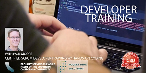 Certified Scrum Developer Training-Tech Practices Track-CSD|Orange County|March 2020