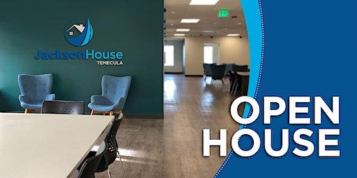 Jackson House Temecula Open House
