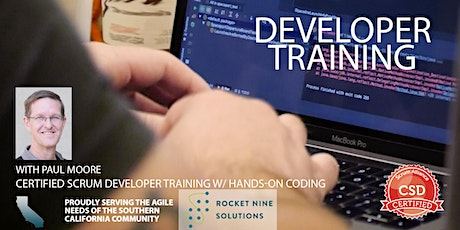 Certified Scrum Developer Training-Tech Practices Track-CSD|Orange County|May 2020 tickets