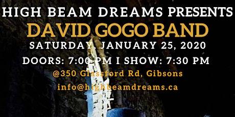 David Gogo Band tickets