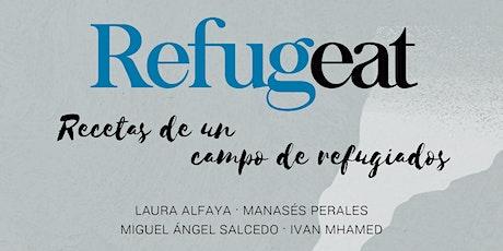 Presentación del libro «Refugeat» entradas