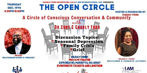 A CIRCLE OF CONSCIOUS CONVERSATION & COMMUNITY WITH DR. CURT & CHARLY FORD