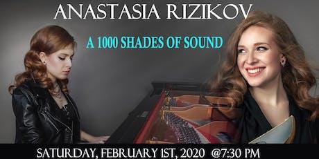 Anastasia Rizikov - A 1000 Shades of Sound tickets