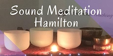 Sound Meditation - Hamilton  tickets