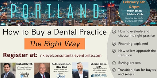 Buy a Dental Practice The Right Way in Portland