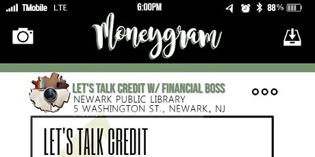 LET'S TALK CREDIT W/ FINANCIAL BOSS tickets