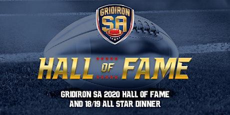 Gridiron SA 2020 Hall of Fame & All Star Dinner tickets