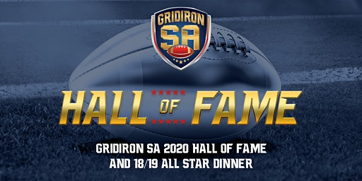 Gridiron SA 2020 Hall of Fame & All Star Dinner