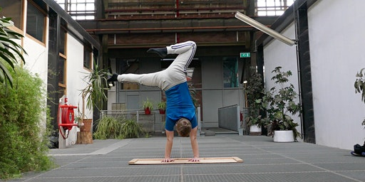 Amsterdam Handstand Workshop: Beginner to Novice Level