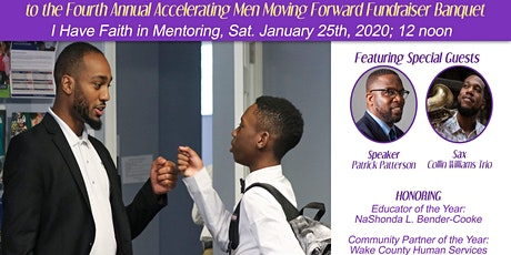 Accelerating Men 4th Annual Moving Forward Fundraiser Banquet tickets