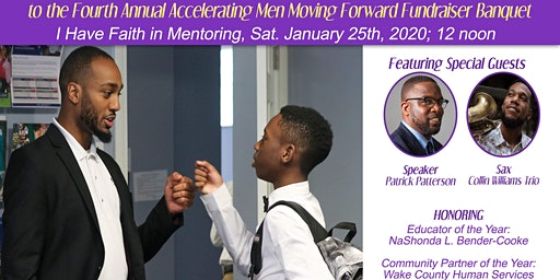Accelerating Men 4th Annual Moving Forward Fundraiser Banquet