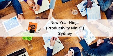 New Year Ninja (Productivity Ninja) - Sydney tickets