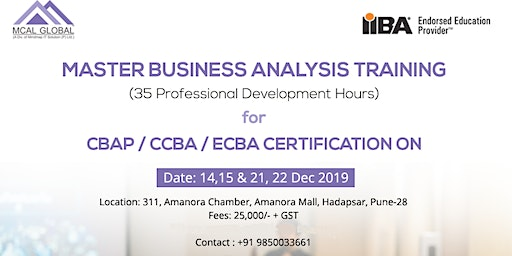 Master Business Analysis Training