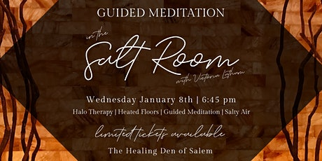 Guided Meditation in the Salt Room tickets