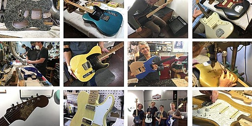 Custom Electric Guitar Building Workshop: Signup deadline for April 18 & 19