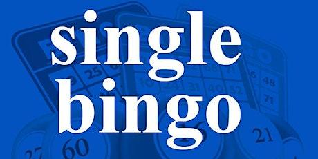 SINGLE BINGO MONDAY JUNE 15, 2020 tickets