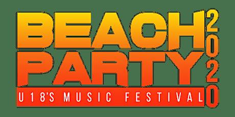UNDER 18s Hardstyle Sydney Beach Party 2020 tickets