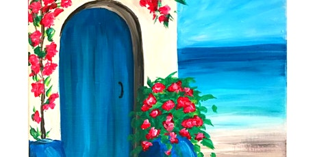 Paint & Sip Workshop 'Greek House'  tickets