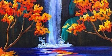 Paint & Sip Workshop 'Waterfall'