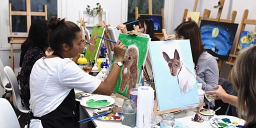 'Paint Your Pet' Sip & Paint Workshop