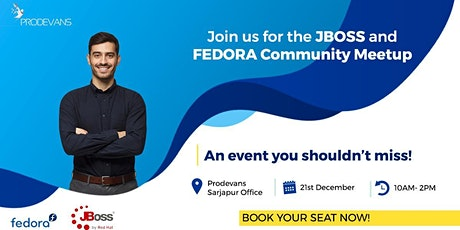 Join us on the 21st for JBoss & Fedora Cuomunity Meet-up tickets