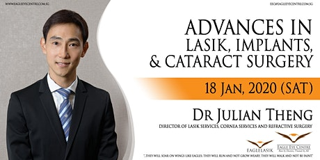 ADVANCES IN LASIK, IMPLANTS, and CATARACT SURGERY tickets