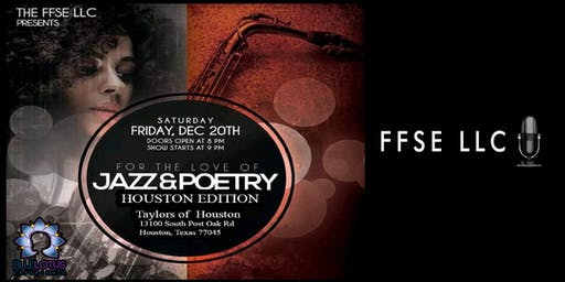 For the Love of Jazz and Poetry - Houston Edition