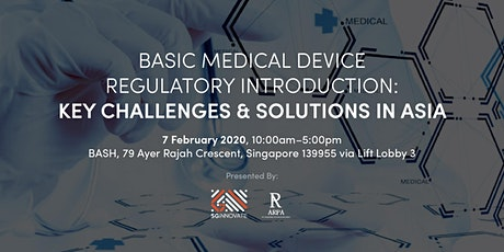 Basic Medical Device Regulatory Introduction: Key Challenges and Solutions in Asia tickets
