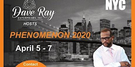 PHENOMENON 2020 tickets