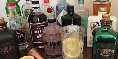 Gin-Tasting mit Blick auf Trave und Meer