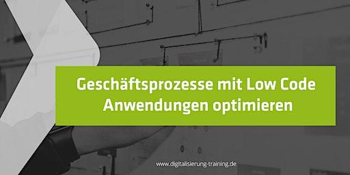 Geschäftsprozesse mit Low Code Anwendungen optimieren
