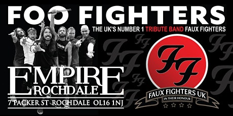 Foo Fighters - tribute Faux Fighters Uk tickets