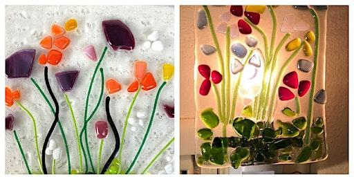 Sold Out Glass Flower Nightlight Workshop Wyandotte Modern Craft Winery