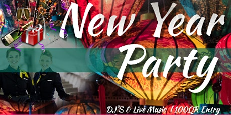 2020 NYE PARTY AT GRAND ALMAS BALLROOM. CITY CENTRE ROTANA  (We are Nomads) tickets