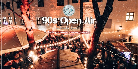 90s Open Air im Winterquartier München | Ugly Christmas Sweater edition Tickets
