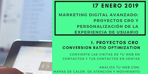 Marketing Digital Avanzado: Proyectos CRO y Personalización de UX