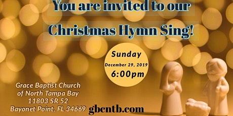 ~~FREE~~SPECIAL 5th SUNDAY HYMN SING ~~CHRISTMAS HYMNS tickets