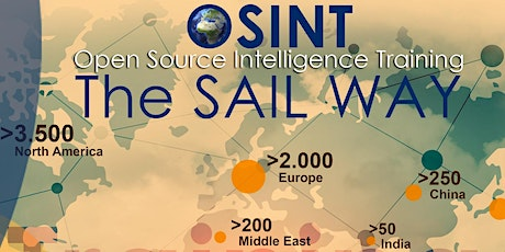 IV Open Source Intelligence Training - OSINT The SAIL Way tickets