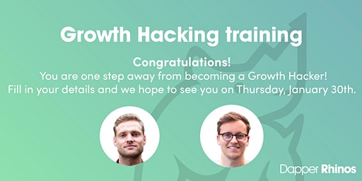 Growth Hacking Training by Dapper Rhinos