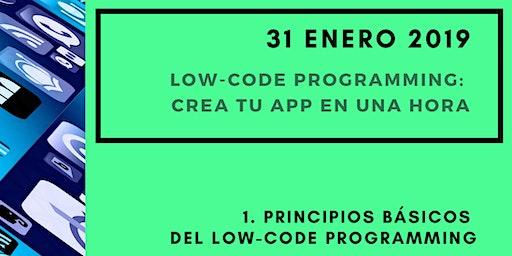 Low-Code Programming: Construye una APP en una HORA